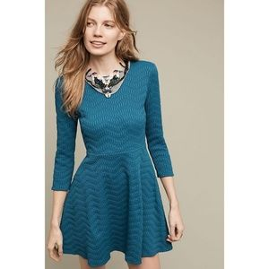 New Anthropologie Shoshanna Textured Jax Dress 2